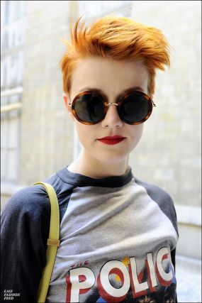 Short hair pixie cut hairstyle with glasses ideas 74