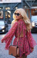 Summer casual backless dresses outfit style 4