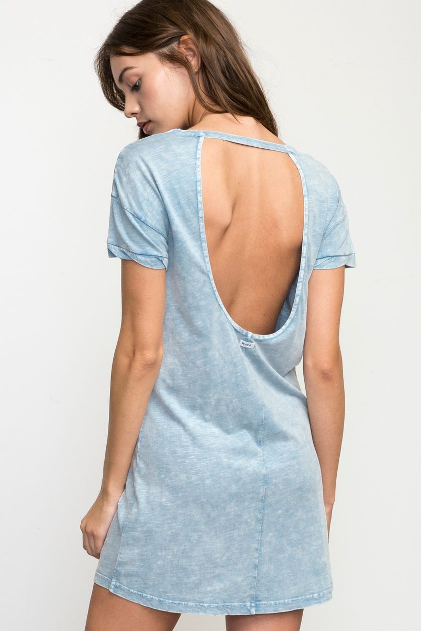 Summer casual backless dresses outfit style 66