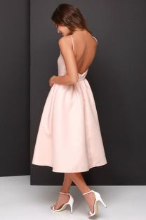 Summer casual backless dresses outfit style 92