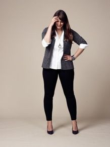 Summer casual work outfits ideas for plus size 24