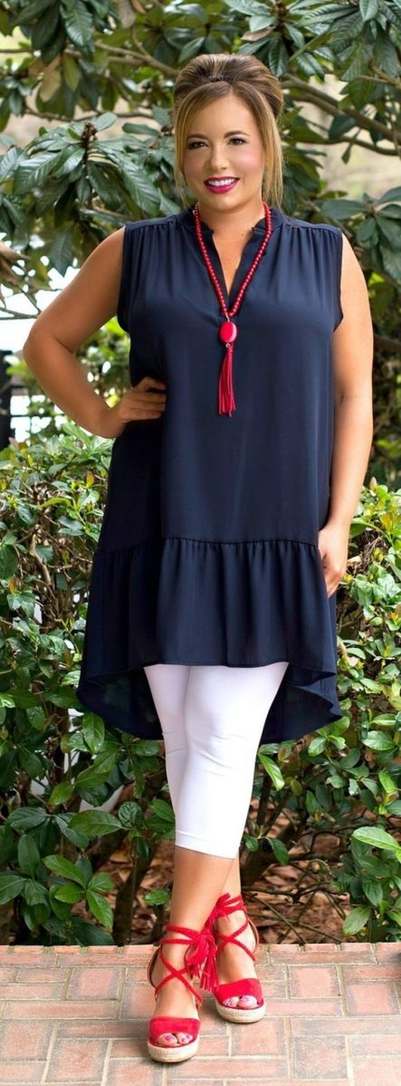 Summer casual work outfits ideas for plus size 36 ...