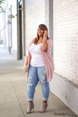 Summer casual work outfits ideas for plus size 42