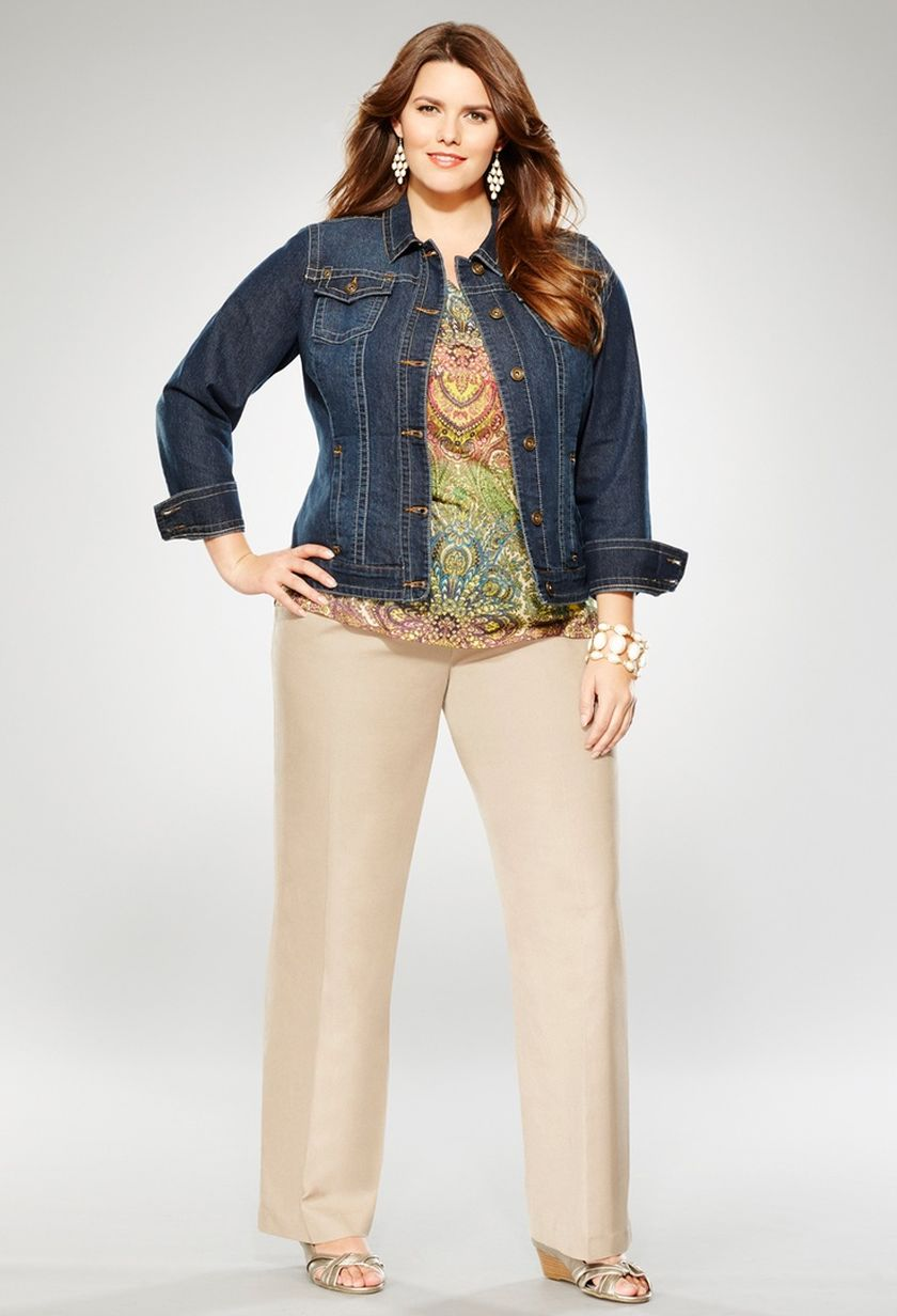 Summer casual work outfits ideas for plus size 43