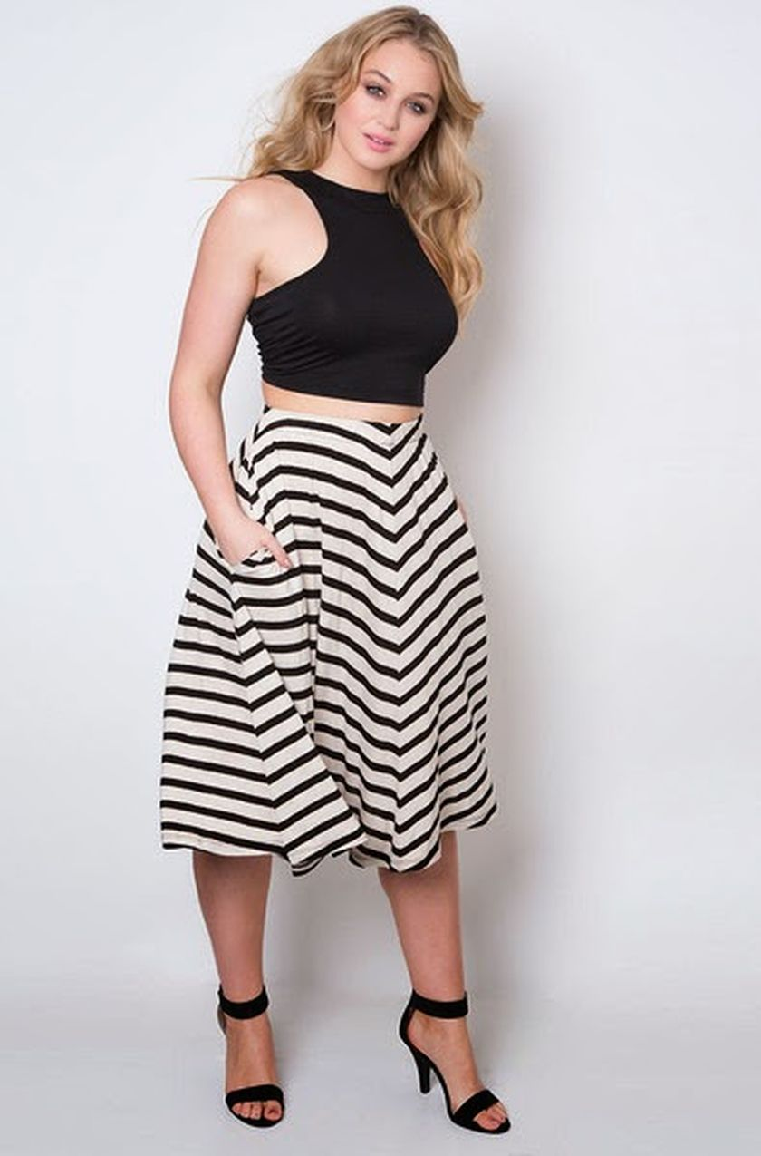 Summer casual work outfits ideas for plus size 50
