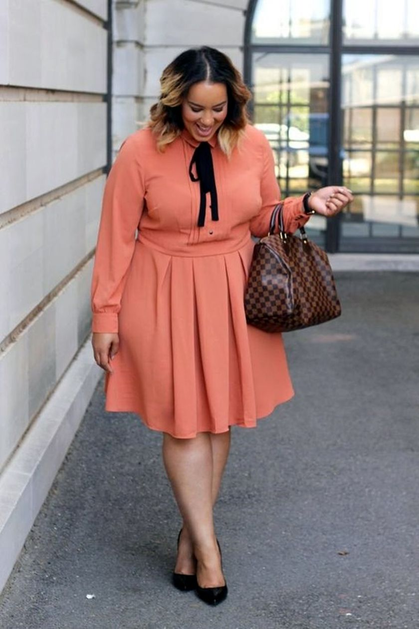 Summer casual work outfits ideas for plus size 51