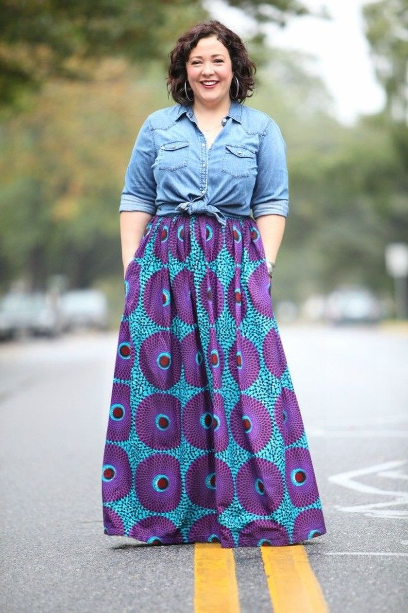 Summer casual work outfits ideas for plus size 65