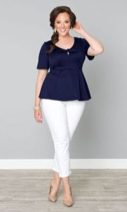 Summer casual work outfits ideas for plus size 77