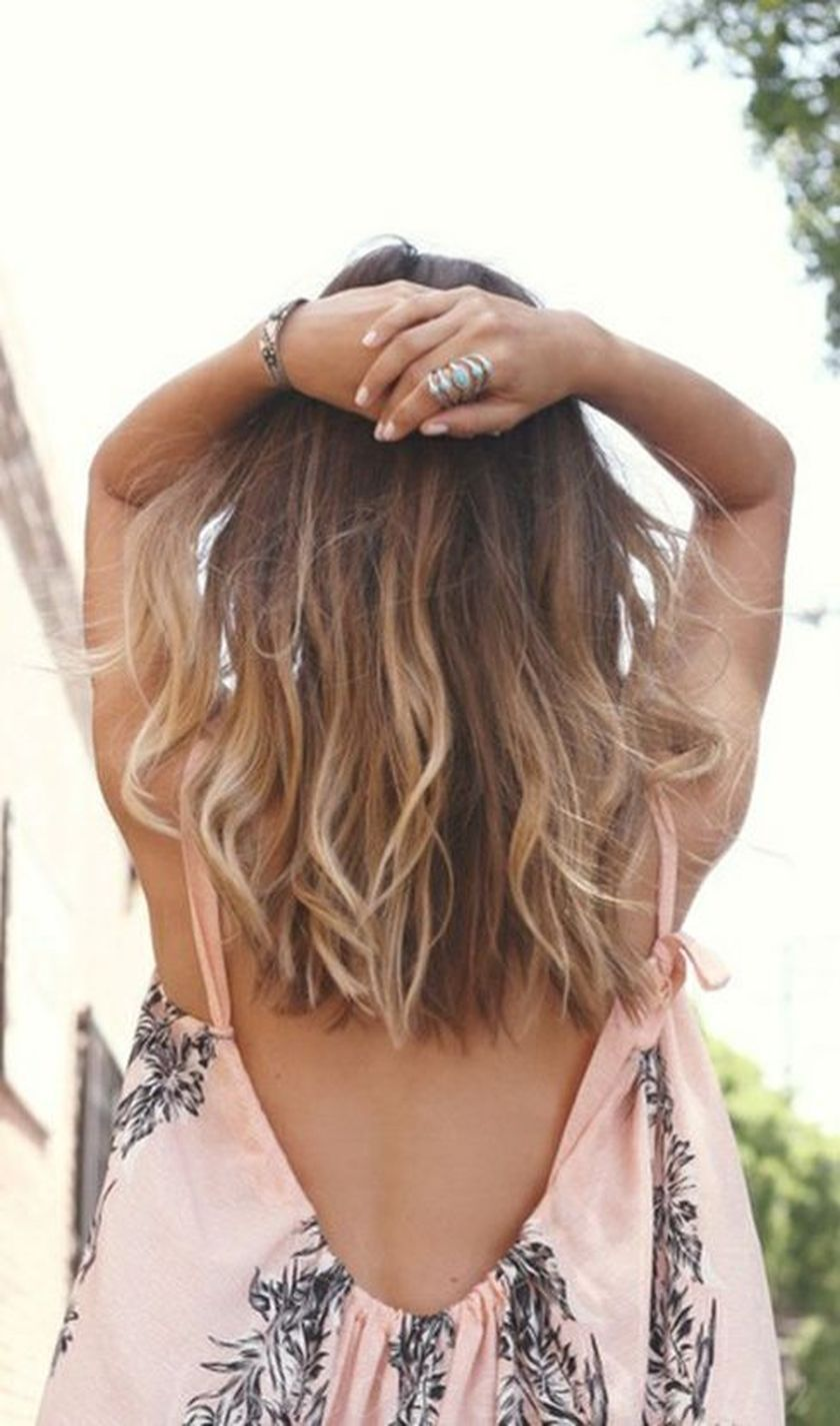 Summer hairstyles for medium hair 21
