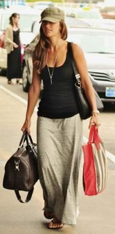 Summers casual maxi skirts ideas 10