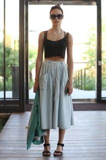 Summers casual maxi skirts ideas 21