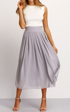 Summers casual maxi skirts ideas 22