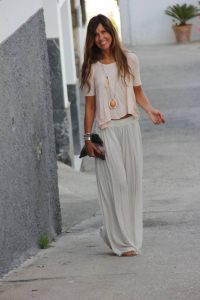 Summers casual maxi skirts ideas 3