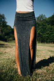 Summers casual maxi skirts ideas 51