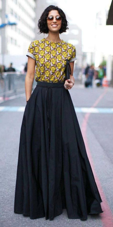 Summers casual maxi skirts ideas 66