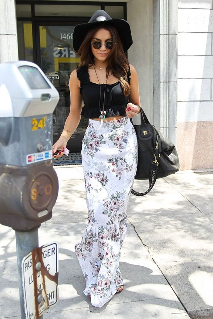 Summers casual maxi skirts ideas 74