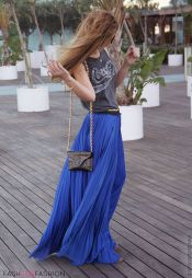 Summers casual maxi skirts ideas 77