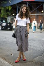 Summers casual maxi skirts ideas 78