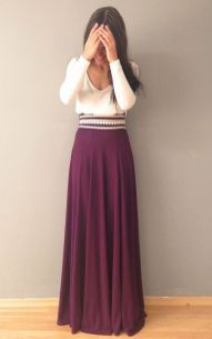Summers casual maxi skirts ideas 88