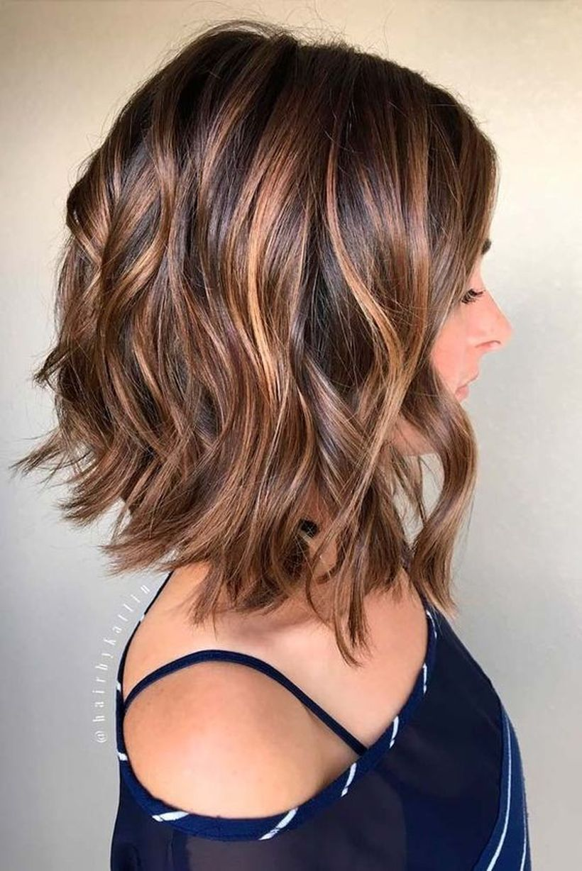 Awesome lobs styling haircut 18