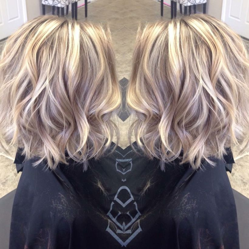 Awesome lobs styling haircut 40