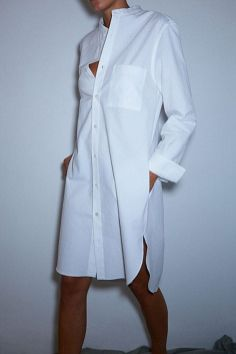 Awesome oversized white shirt outfit style ideas 14