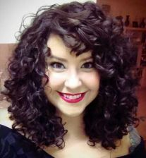 Beautiful curly layered haircut style ideas 101