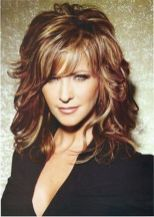 Beautiful curly layered haircut style ideas 60