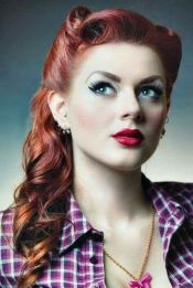 Breathtaking vintage rockabilly hairstyle ideas 34
