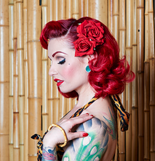 Breathtaking vintage rockabilly hairstyle ideas 5
