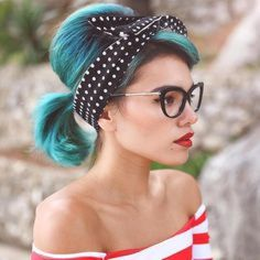 Breathtaking vintage rockabilly hairstyle ideas 72