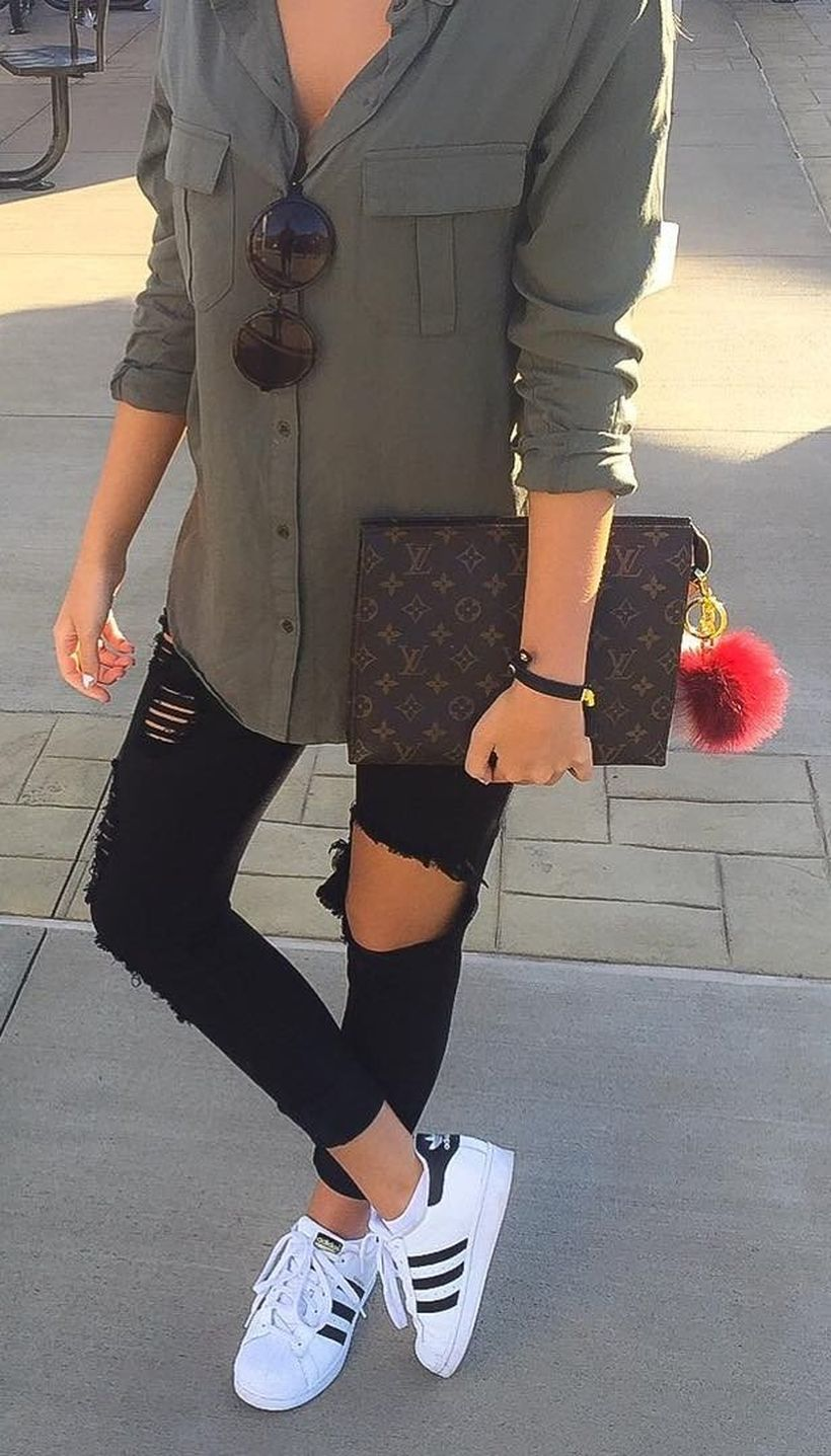 Casual fall fashions trend inspirations 2017 16