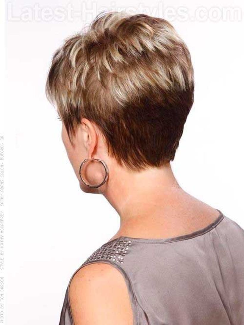 Cool back view undercut pixie haircut hairstyle ideas 27