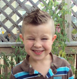Cool kids & boys mohawk haircut hairstyle ideas 18