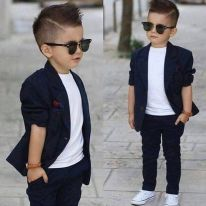 Cool kids & boys mohawk haircut hairstyle ideas 40