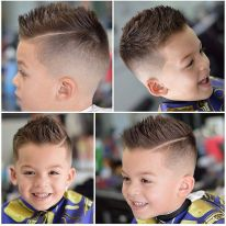 Cool kids & boys mohawk haircut hairstyle ideas 46