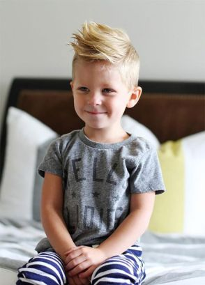 Cool kids & boys mohawk haircut hairstyle ideas 47