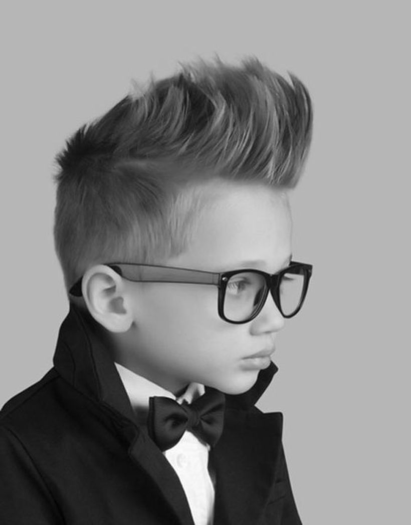 Cool kids & boys mohawk haircut hairstyle ideas 52