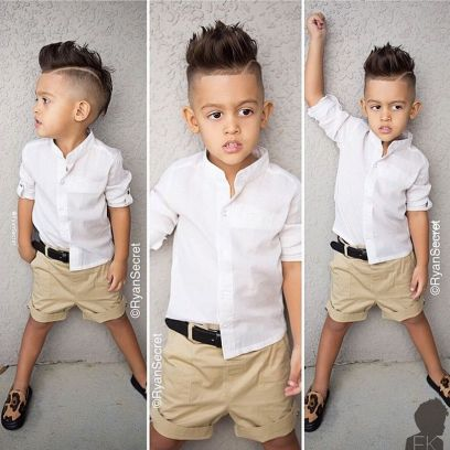 Cool kids & boys mohawk haircut hairstyle ideas 54