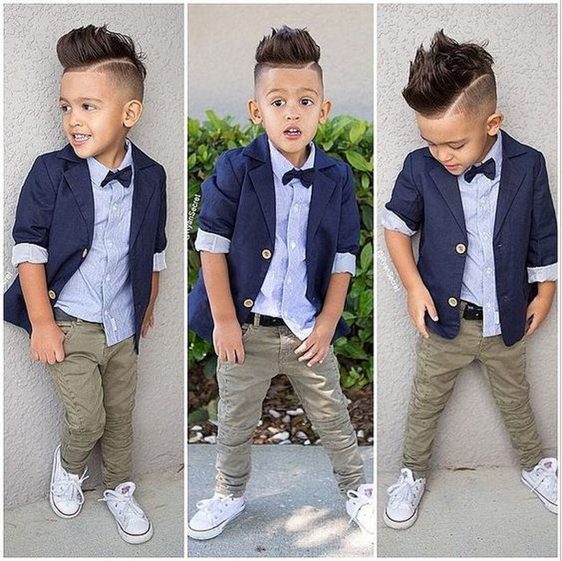 Cool kids & boys mohawk haircut hairstyle ideas 8