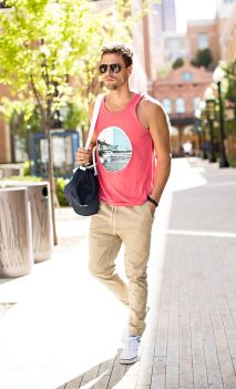 Cool mens joggers outfit ideas 41
