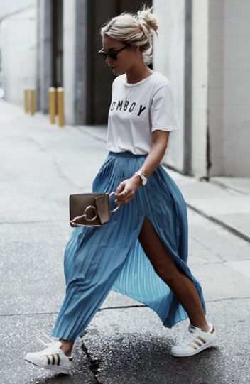 Cool tshirt and skirt for everyday outfits 38