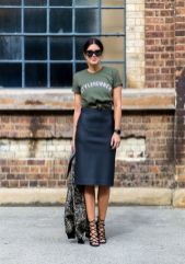 Cool tshirt and skirt for everyday outfits 54