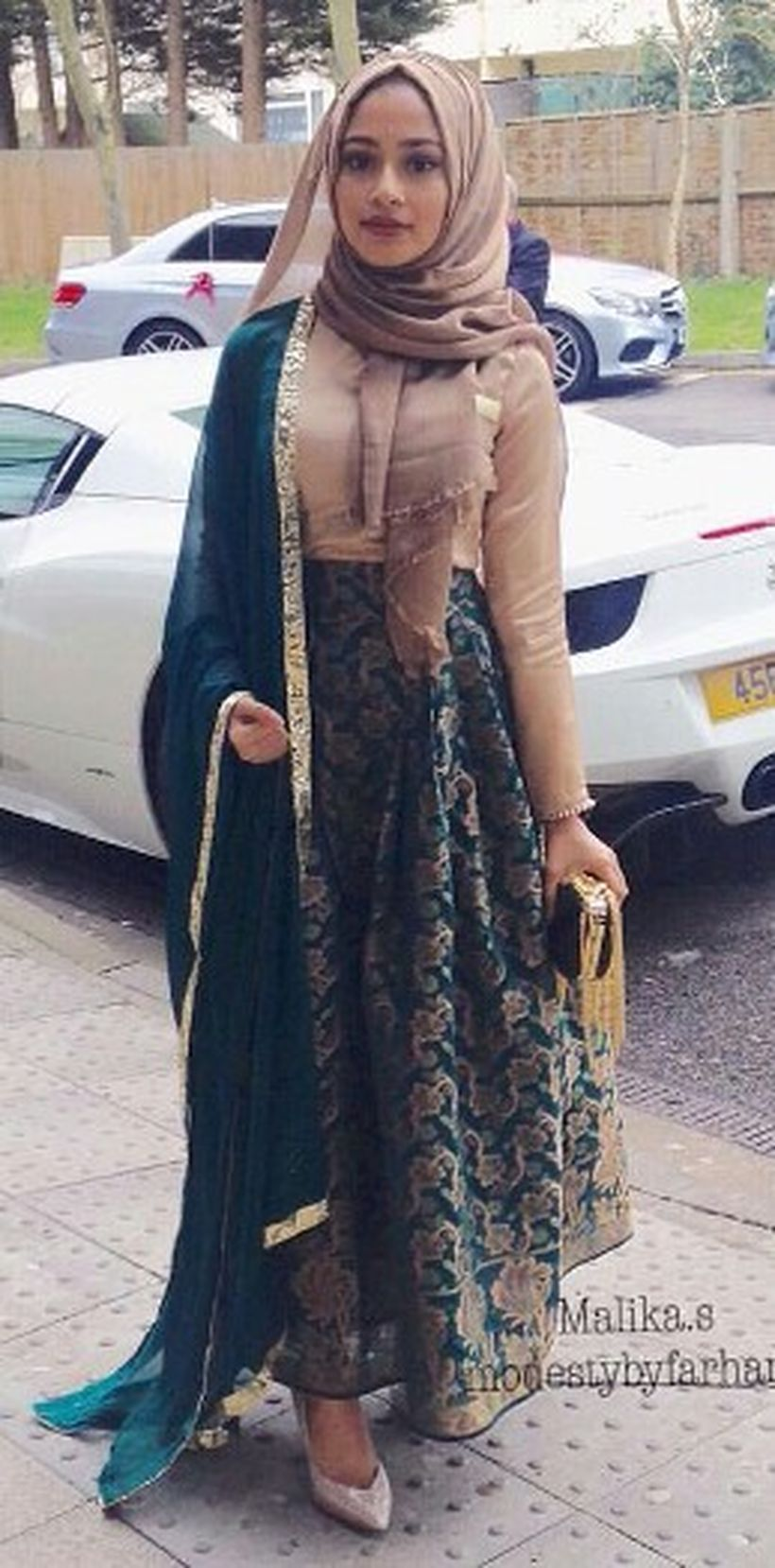 Elegant muslim outift ideas for eid mubarak 10