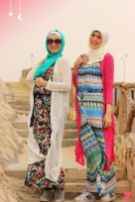 Elegant muslim outift ideas for eid mubarak 12