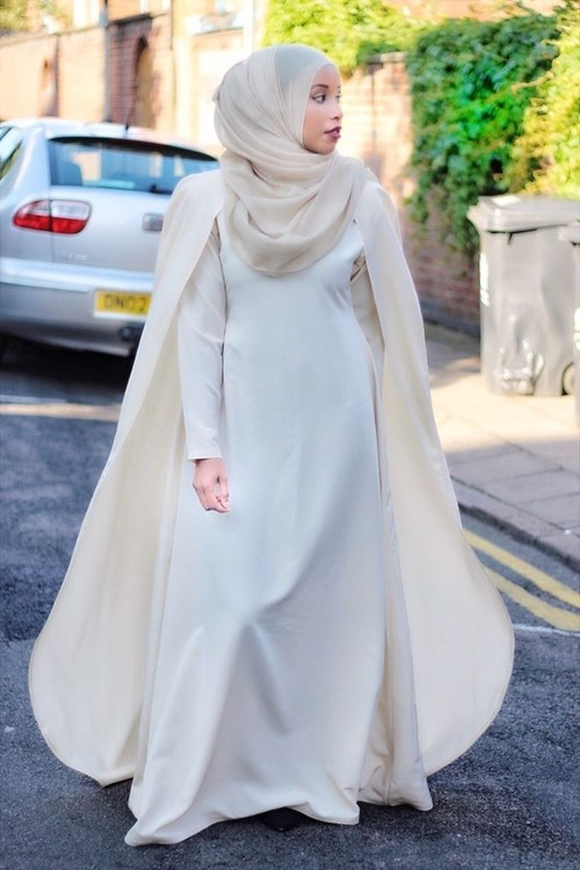 Elegant muslim outift ideas for eid mubarak 23