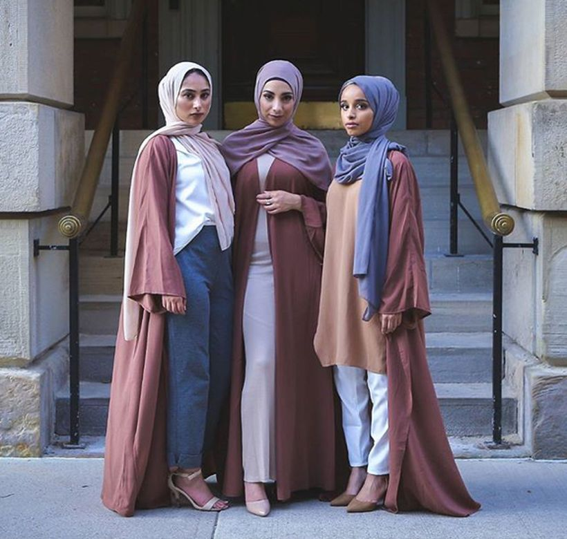 Elegant muslim outift ideas for eid mubarak 24