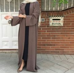 Elegant muslim outift ideas for eid mubarak 26