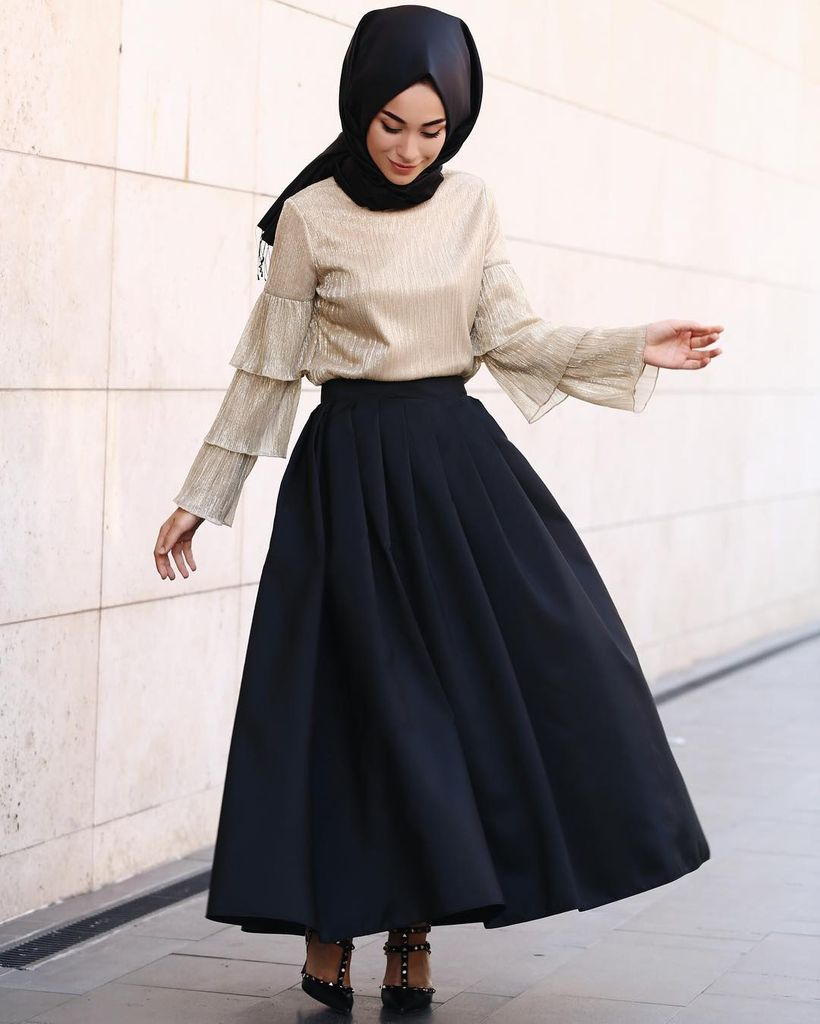 Elegant muslim outift ideas for eid mubarak 3