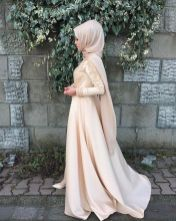 Elegant muslim outift ideas for eid mubarak 30